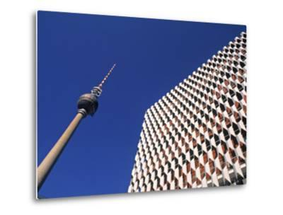 Fernsehturm, Alexanderplatz, Berlin, Germany-Jon Arnold-Metal Print