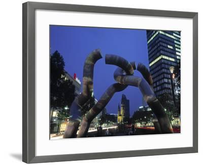 Kurfurstendamm, Berlin, Germany-Jon Arnold-Framed Photographic Print