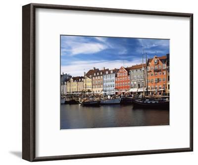 Nyhavn Harbour, Copenhagen, Denmark-Jon Arnold-Framed Photographic Print