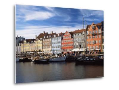 Nyhavn Harbour, Copenhagen, Denmark-Jon Arnold-Metal Print