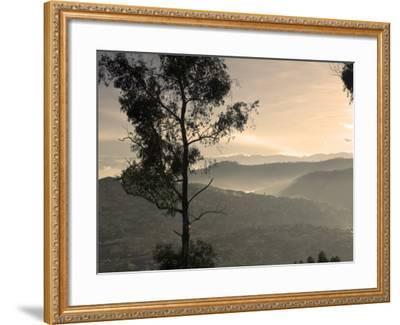 View over Quito, Ecuador-John Coletti-Framed Photographic Print