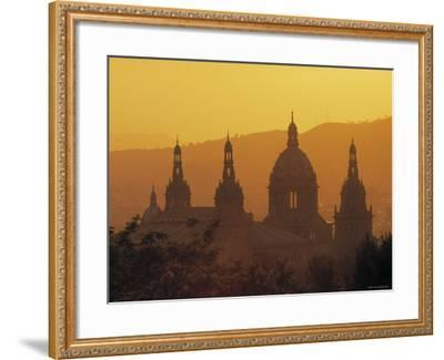 National Palace, Barcelona, Spain-Jon Arnold-Framed Photographic Print