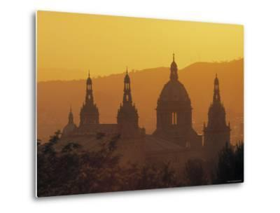 National Palace, Barcelona, Spain-Jon Arnold-Metal Print