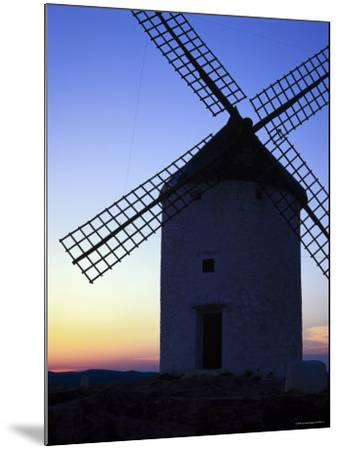 Windmill at Consuegra, Ruta de Don Quixote, Castilla La Mancha, Spain, Europe-Gavin Hellier-Mounted Photographic Print