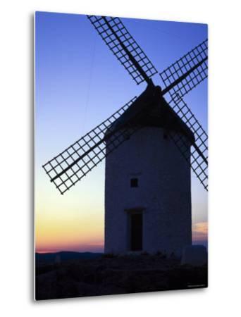 Windmill at Consuegra, Ruta de Don Quixote, Castilla La Mancha, Spain, Europe-Gavin Hellier-Metal Print