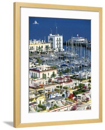 Puerto de Mogan, Gran Canaria, Canary Islands, Spain-Peter Adams-Framed Photographic Print