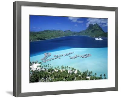 Pearl Beach Resort, Bora Bora, French Polynesia-Walter Bibikow-Framed Photographic Print