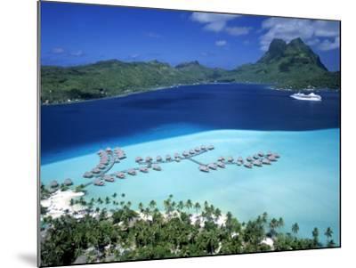 Pearl Beach Resort, Bora Bora, French Polynesia-Walter Bibikow-Mounted Photographic Print