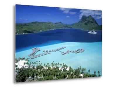 Pearl Beach Resort, Bora Bora, French Polynesia-Walter Bibikow-Metal Print