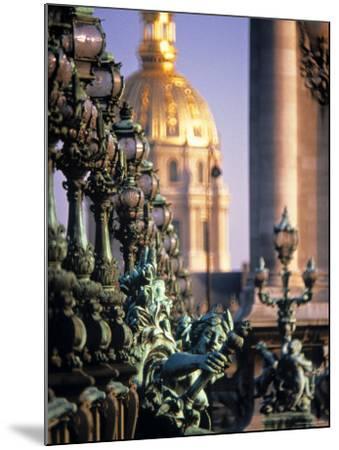 Pont Alexandra III, Paris, France-Jon Arnold-Mounted Photographic Print