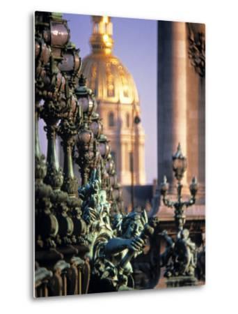 Pont Alexandra III, Paris, France-Jon Arnold-Metal Print