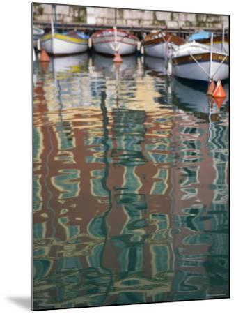 Relections, Nice Harbour, Cote d'Azur, France-Doug Pearson-Mounted Photographic Print