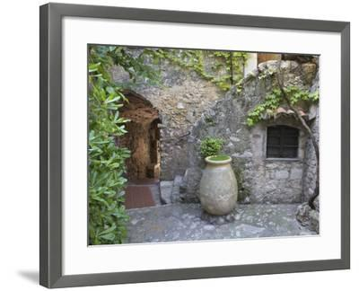 Eze, French Riviera, Cote d'Azur, France-Doug Pearson-Framed Photographic Print