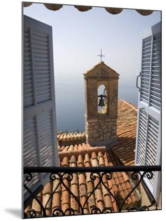 Church Bell Tower, Eze, French Riviera, Cote d'Azur, France-Doug Pearson-Mounted Photographic Print