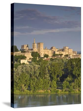 Palais Des Papes, Avignon, Provence, France-Doug Pearson-Stretched Canvas Print