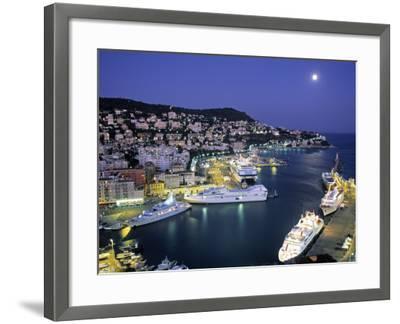 Old Port, Nice, Cote d'Azur, France-Demetrio Carrasco-Framed Photographic Print