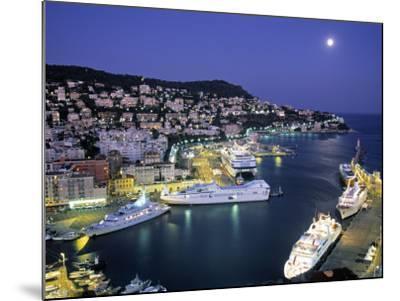 Old Port, Nice, Cote d'Azur, France-Demetrio Carrasco-Mounted Photographic Print