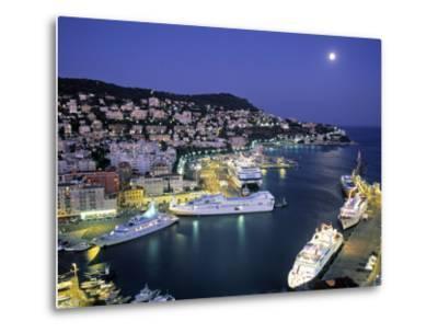 Old Port, Nice, Cote d'Azur, France-Demetrio Carrasco-Metal Print