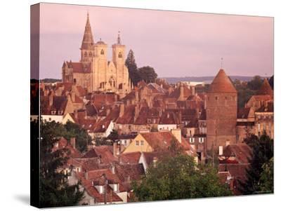Semur-En-Auxois, Chablis, Burgundy, France-Doug Pearson-Stretched Canvas Print