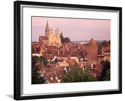 Semur-En-Auxois, Chablis, Burgundy, France-Doug Pearson-Framed Photographic Print