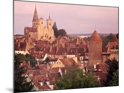 Semur-En-Auxois, Chablis, Burgundy, France-Doug Pearson-Mounted Photographic Print