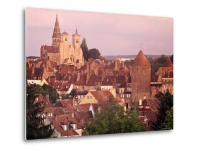 Semur-En-Auxois, Chablis, Burgundy, France-Doug Pearson-Metal Print