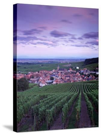 Blienschwiller, Alsace, France-Doug Pearson-Stretched Canvas Print