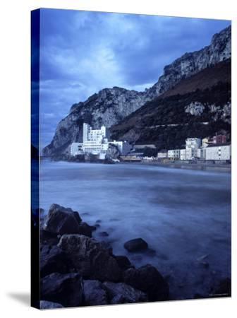 Catalan Bay, Gibraltar-Doug Pearson-Stretched Canvas Print