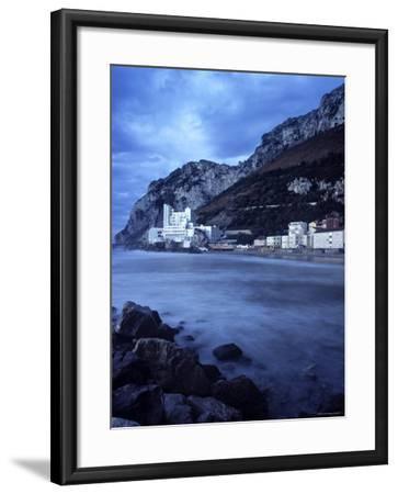Catalan Bay, Gibraltar-Doug Pearson-Framed Photographic Print