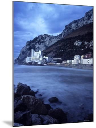 Catalan Bay, Gibraltar-Doug Pearson-Mounted Photographic Print