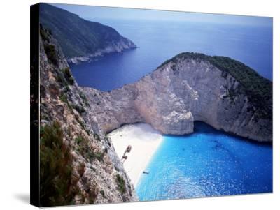 Navagio, Zante, Ionian Islands, Greece-Danielle Gali-Stretched Canvas Print