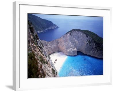 Navagio, Zante, Ionian Islands, Greece-Danielle Gali-Framed Photographic Print