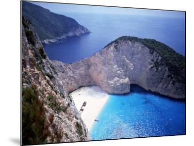 Navagio, Zante, Ionian Islands, Greece-Danielle Gali-Mounted Photographic Print