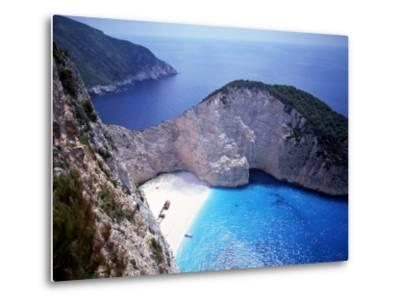 Navagio, Zante, Ionian Islands, Greece-Danielle Gali-Metal Print