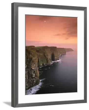 Cliffs of Moher, County Clare, Ireland-Doug Pearson-Framed Photographic Print