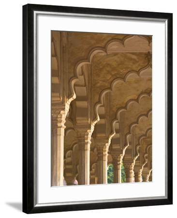 Hall of Public Audiences, Agra Fort, Agra, Uttar Pradesh, India-Walter Bibikow-Framed Photographic Print
