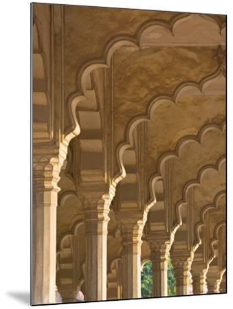 Hall of Public Audiences, Agra Fort, Agra, Uttar Pradesh, India-Walter Bibikow-Mounted Photographic Print