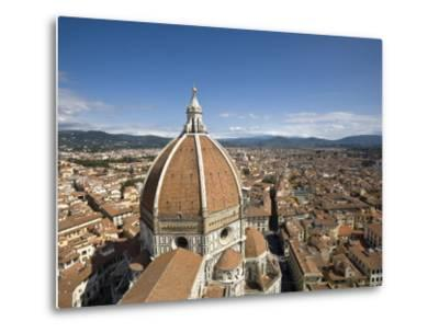 Duomo, Florence, Tuscany, Italy-Doug Pearson-Metal Print