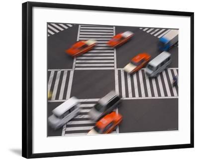 Sukiyabashi Pedestrian Crossing, Ginza, Tokyo, Japan-Gavin Hellier-Framed Photographic Print