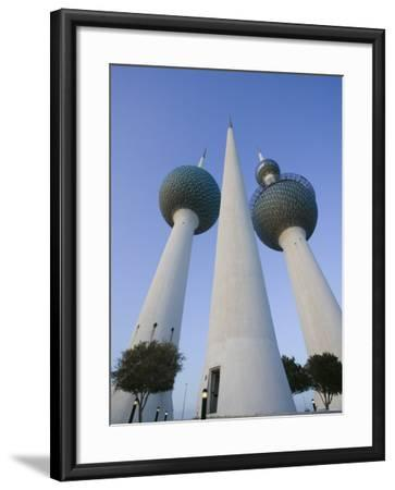 Kuwait Towers, Kuwait City, Kuwait-Walter Bibikow-Framed Photographic Print