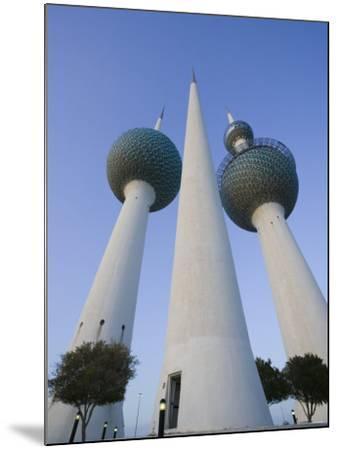 Kuwait Towers, Kuwait City, Kuwait-Walter Bibikow-Mounted Photographic Print