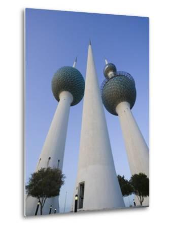 Kuwait Towers, Kuwait City, Kuwait-Walter Bibikow-Metal Print