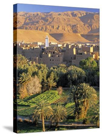 Tinerhir, Morocco-Peter Adams-Stretched Canvas Print