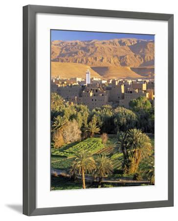 Tinerhir, Morocco-Peter Adams-Framed Photographic Print