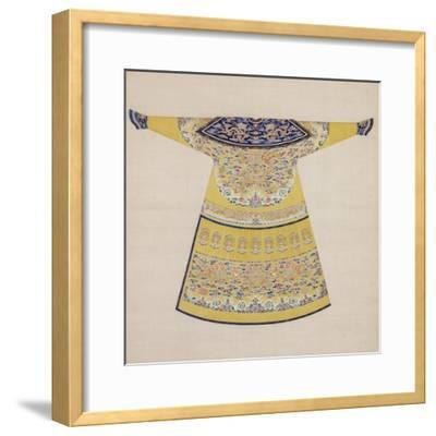 Summer Court Robe Worn by the Emperor, China--Framed Giclee Print