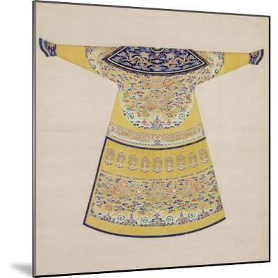 Summer Court Robe Worn by the Emperor, China--Mounted Giclee Print