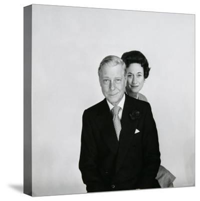 Duke and Duchess of Windsor-Cecil Beaton-Stretched Canvas Print