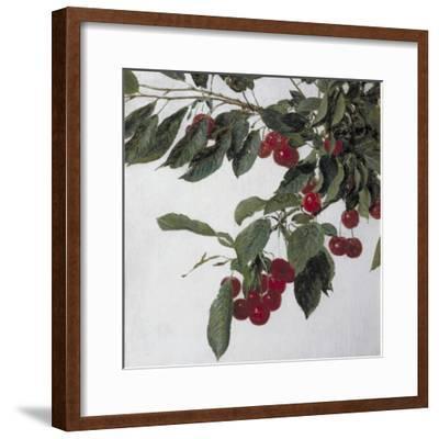 Cherries, c.1883-Henri Fantin-Latour-Framed Giclee Print