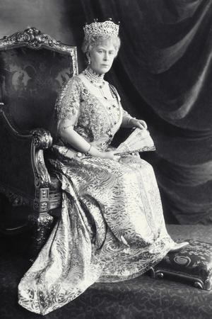 Queen Mary-James Lafayette-Stretched Canvas Print