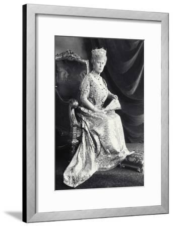 Queen Mary-James Lafayette-Framed Giclee Print